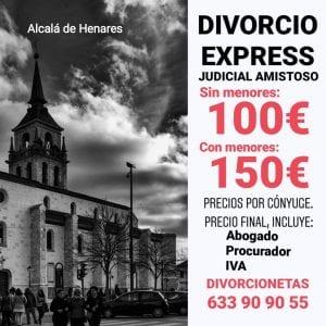 Separación matrimonial en Alcalá de Henares