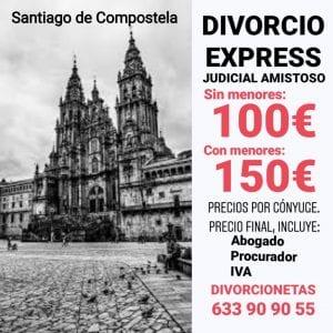Separación matrimonial rápida y barata en Santiago de Compostela